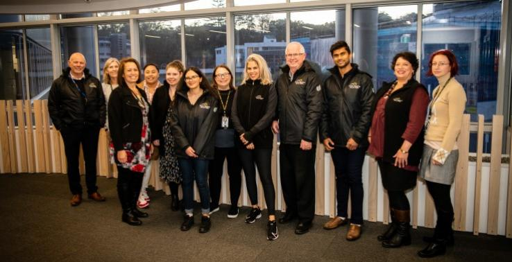 Victim Support Workers from Auckland District Hub